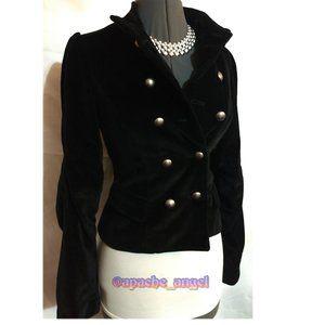 LaROX Velour Silk Victorian Style Jacket XS